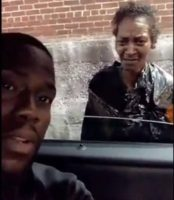 "Giving Back: Kevin Hart Gives A Homeless Woman $400 Dollars: "" I Want You To Do Something Good With It! (Video)"