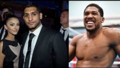 Boxer Anthony Joshua Denies Having An Affair With Amir Khan's Wife Because He Likes His Women BBW! (Video)