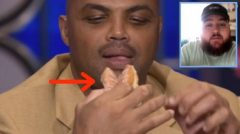 LOL: Charles Barkley Fires Back At Lakers Fan Who Tweeted A 'Krispy Kreme' Joke About Him (Video)