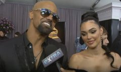 New Couple Alert? Shemar Moore Brings Actress Anabelle Acosta As His Date To 2018 Grammys! ( Video)
