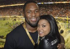 Taraji P. Henson Confirms Relationship With Ex-NFL Baller Kelvin Hayden (Video)
