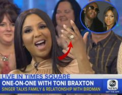 Toni Braxton Talks Relationship With Birdman And Starring In New Lifetime Movie 'Faith Under Fire' (Video)
