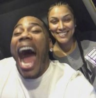 "Nelly Sings Debarge's ""I Like It"" To Girlfriend Shantel Jackson On Valentine's Day! (Video)"