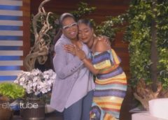 Watch: Oprah Surprises Superfan Tiffany Haddish On The Ellen Show (Video)