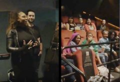 Watch: Serena Williams Surprises A Group Of Young Black Girls With A Private Screening Of 'Black Panther' Movie! (Video)