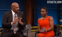 Steve Harvey Confronts Man In Audience Who Is Cheating On His Girlfriend! (Video)
