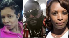 Rapper Rick Ross' Baby Mama Tia Kemp Challenges His Other Baby Mama Lastonia Leviston To A Boxing Match After Lastonia Threatened To Shoot Her For Visiting Ross At Hospital (Video)
