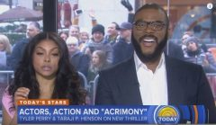 Tyler Perry And Taraji P. Henson Dish On Their New Movie Thriller 'Acrimony' (Video)