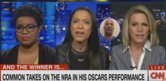 CNN's Angela Rye Goes Off On Alice Stewart For Criticizing Her Boyfriend Common's  Oscars Performance Calling Out The NRA! (Video)