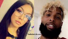 French IG Model Seen In Viral Video Laying In Bed With NFL Star Odell Beckham Jr. Details Her Steamy Night With Him, Reveals If They Did Cocaine Together & If They Had A Threesome! (Video)