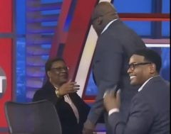 Shaq's Mother Ms. Lucille Surprises Him On His 46th Birthday!! (Video)