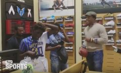 NFL Star Cam Newton Takes Special Olympics Athletes Shopping At Dick's Sporting Goods! (Video)