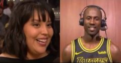 "Andre Ingram's Wife Marilee Says She 'Lost It' When She Found Out He Signed With The NBA's Los Angeles Lakers After Spending 11 Long Years In The ""D"" League! (Video)"