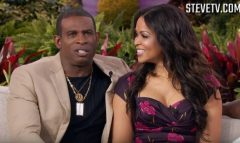 Deion Sanders And Tracey Edmonds Dish On What's Going On In Their Current Life And Tracey's Good Health! (Video)