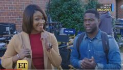 Tiffany Haddish And Kevin Hart Speak On Their New Movie 'Night School!'  (Video)