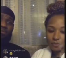 LeBron James And Wife Savannah Go On Instagram Live For The First Time Before Game 3 Against Pacers (Video)