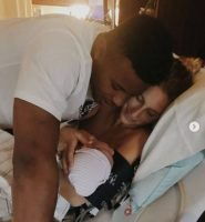 Congratulations: Saquon Barkley And Girlfriend Anna Congdon Welcome Baby Girl Two Days Before 2018 NFL Draft. (Video)