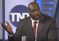 Shaq Gets Roasted On Social Media For Giving The Worst Method Ever For Saving Money On Gas!! (Video)