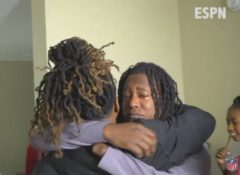 Watch: One Handed Shaquem Griffin And His Twin Brother Shaquill Get Emotional After He Gets Drafted To The Same NFL Team…The Seattle Seahawks (Video)