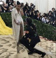 Watch: Rapper 2 Chainz Proposes Again To Longtime Fiancee Kesha Ward On The 2018 Met Gala Red Carpet (Video)