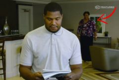 Watch: NFL Star Calais Campbell Reads Emotional Mother's Day Letter To His Mom — Not Knowing She Was Secretly Watching & Listening In The Next Room! (Video)