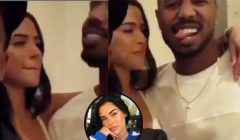 Michael B. Jordan Dodges Relationship Questions About Rumored Girlfriend Ashlyn Castro, Talks Life After Black Panther Movie And More (Video)