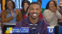 Michael B. Jordan Talks Attending The Met Gala Tonight, 'Black Panther' Success And New Movie 'Fahrenheit 451' (Video)