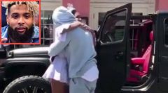 NFL Star Odell Beckham Jr. Surprises His Little Sister A Brand New Jeep For Her 16th Birthday! (Video)