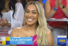 La La Anthony Talks Celebrating Her 39th Birthday And New Upcoming Season Of 'Power.' (Video)