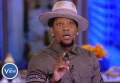 DL Hughley Speaks On The Black Community's Relationship With Police, Racism, Hate Crimes And New Book (Video)