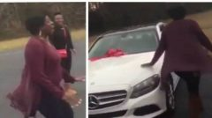 Priceless: NFL Star Darius Leonard Surprises Mom With Brand New Car! (Video)
