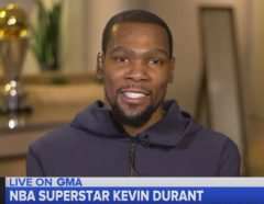 Kevin Durant Opens Up About His New ESPN TV Series 'The Board Room (Video)