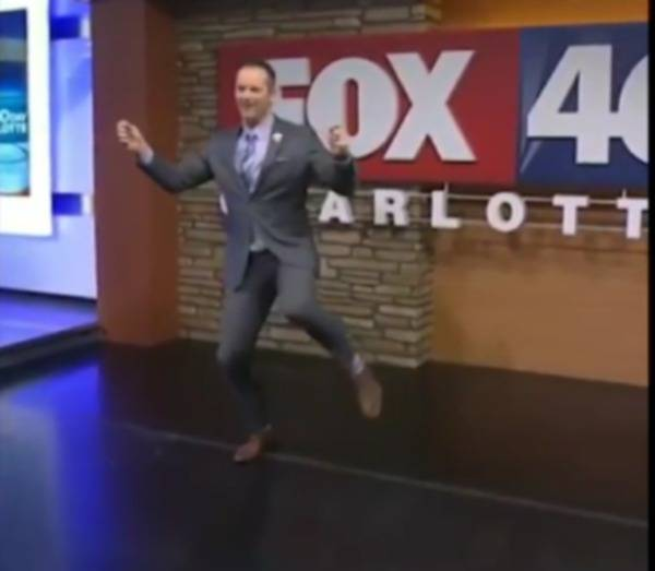 Viral News Today Home: Watch: FOX 46 Meteorologist Nick Kosir Goes Viral On